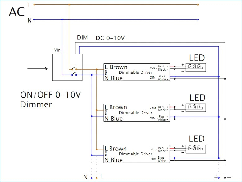 0 10v Dimming Ballast Wiring Diagram Collection