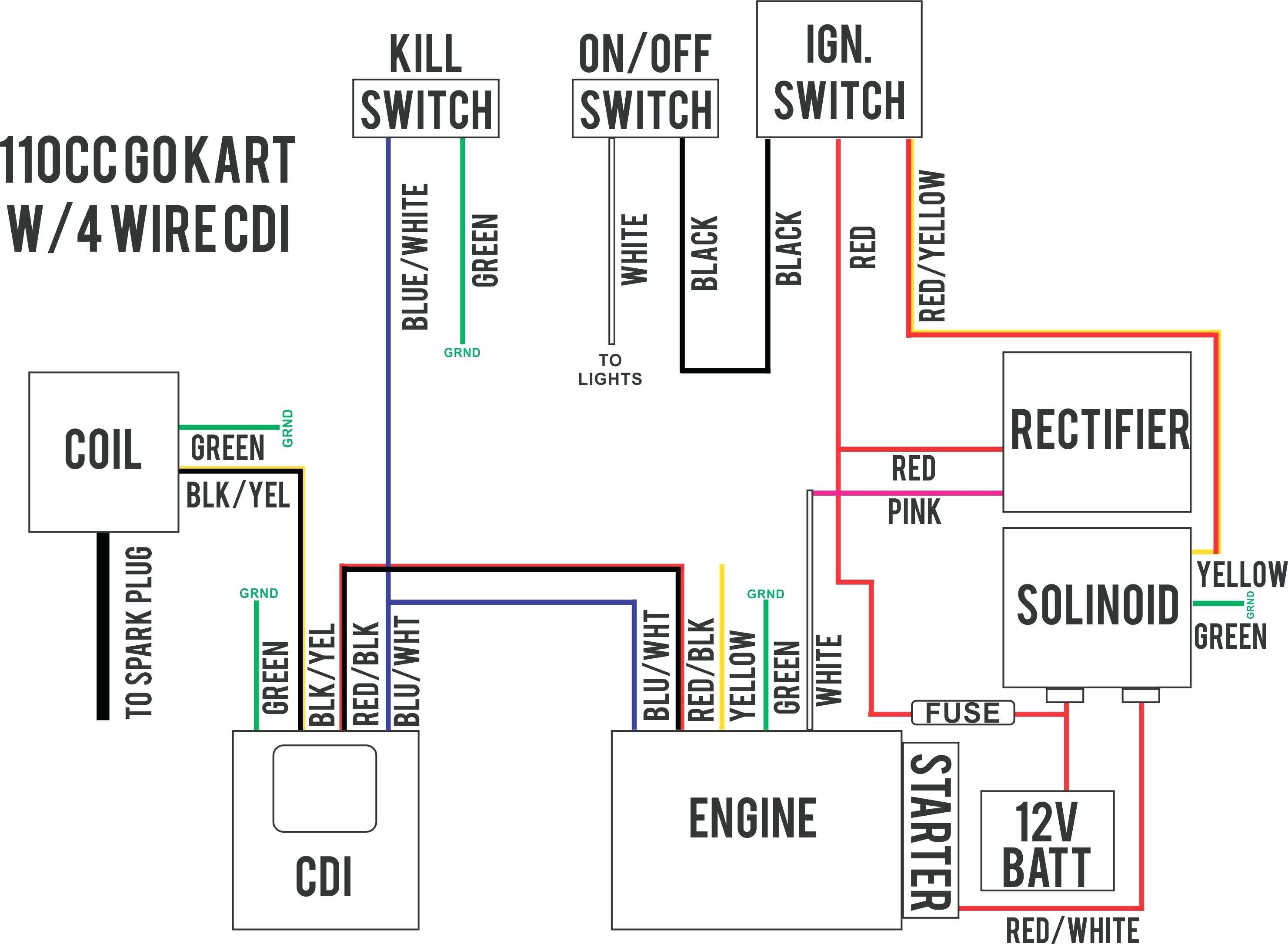 three way wiring diagram 110v