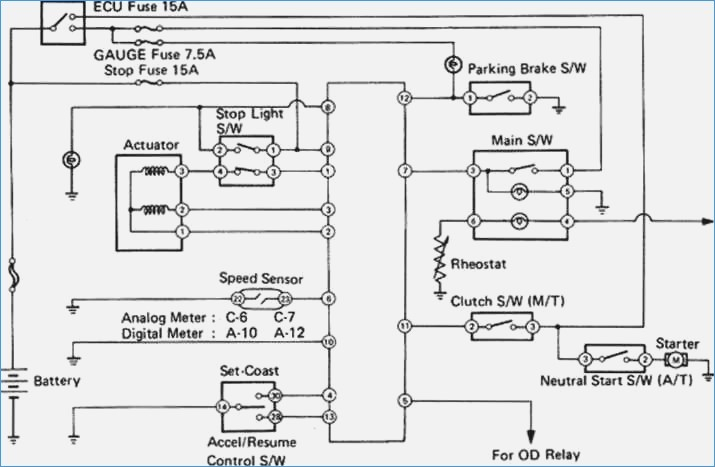 12s meter wiring diagram Collection-Wiring Diagram for Cruise Control – jmcdonaldfo 7-r