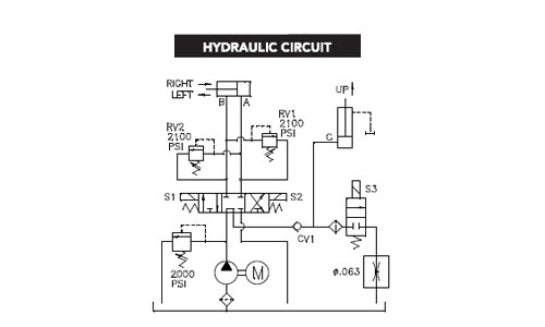 12v hydraulic power pack wiring diagram gallery