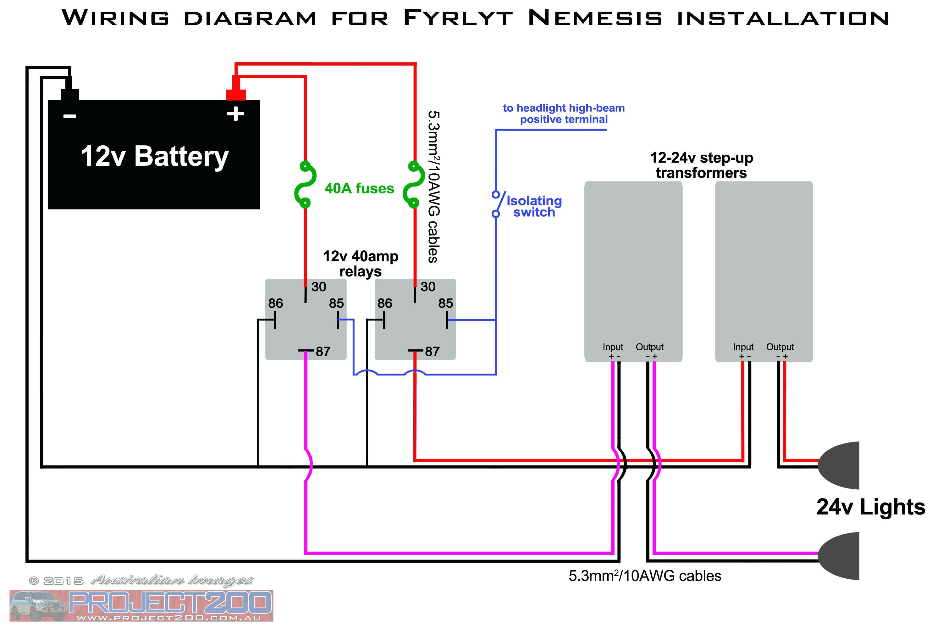12v Relay Wiring Diagram Spotlights Download | Wiring ... on