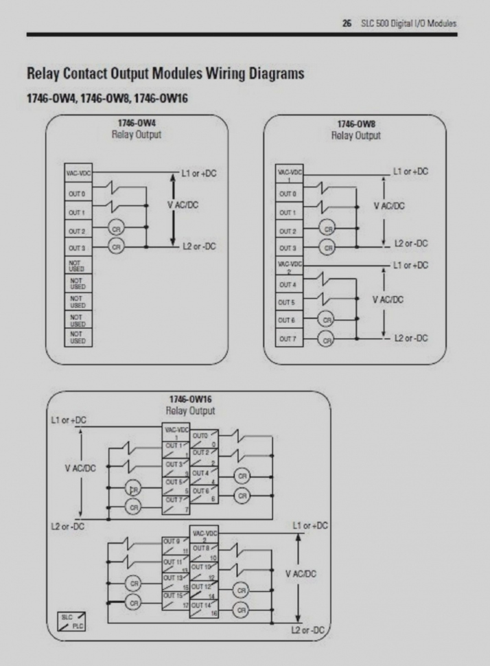 1746 ib16 wiring diagram Download-Allen Bradley 1746 Ow16 Wiring Diagram 2016 New Sealed OA16 4-g