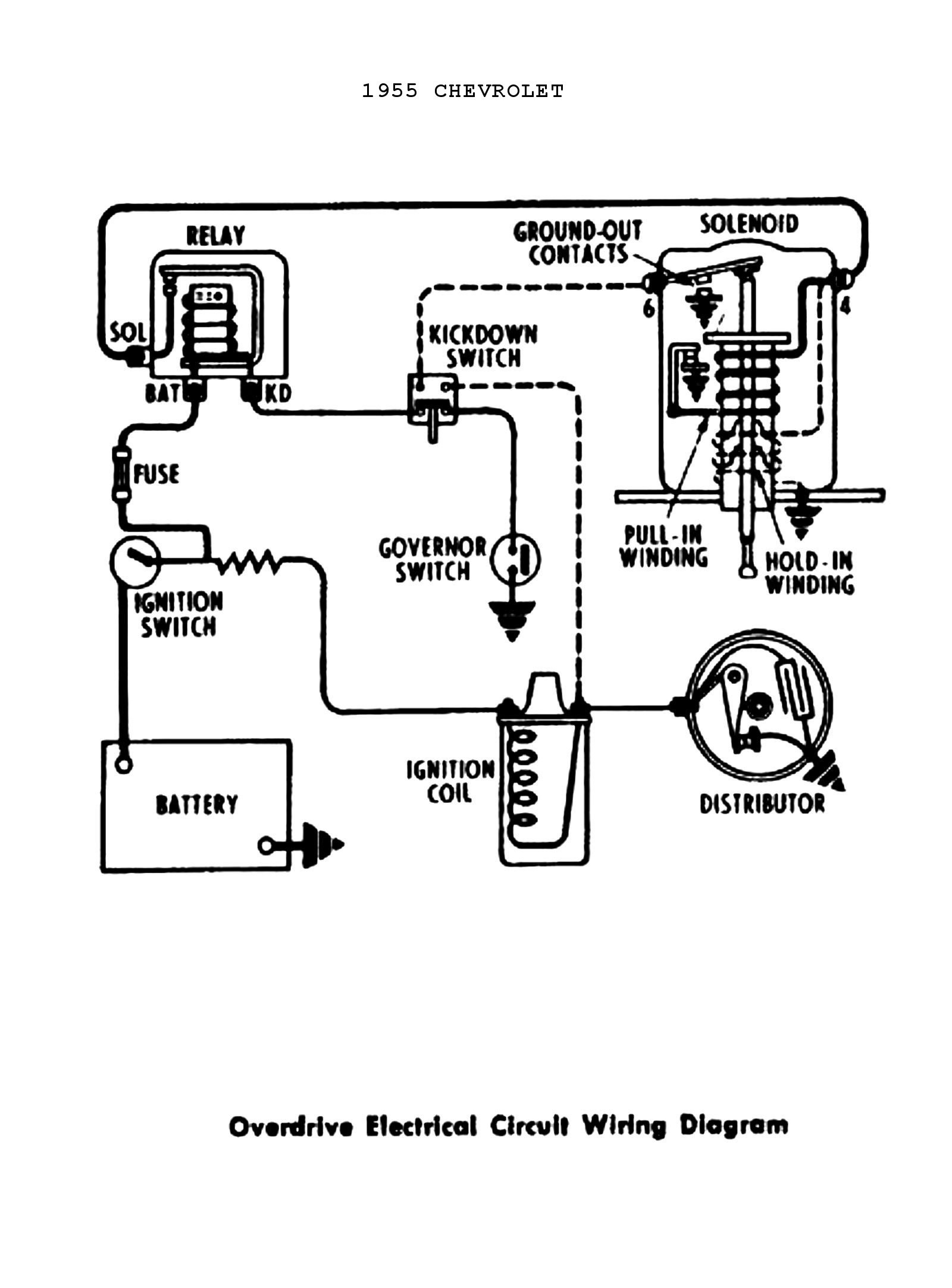 1955 Chevy Turn Signal Wiring Diagram Sample | Wiring ... on