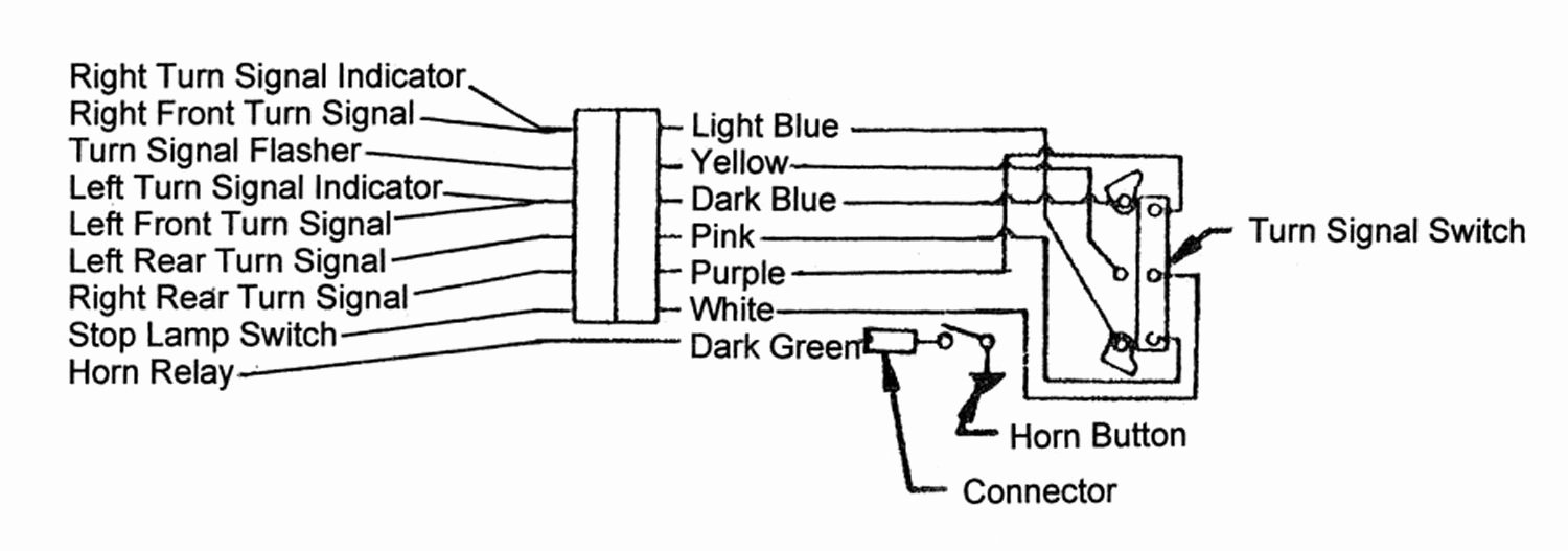 wiring diagram universal turn signal switch. Black Bedroom Furniture Sets. Home Design Ideas