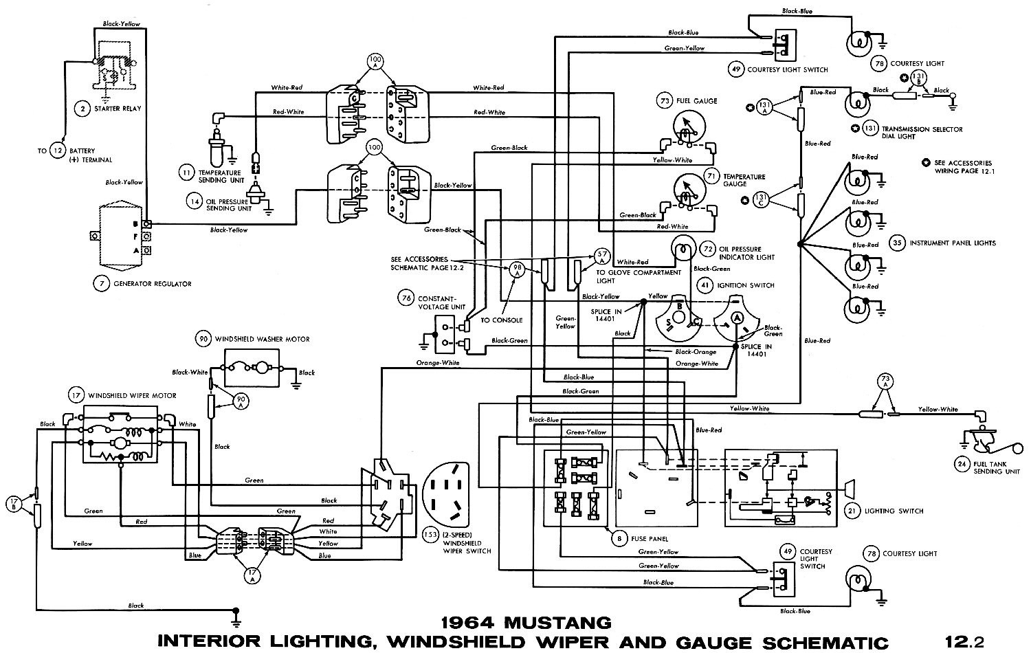 65 Chevelle Ignition Switch Wiring Diagram Library 66 Wire 1965 Mustang Download Wiper