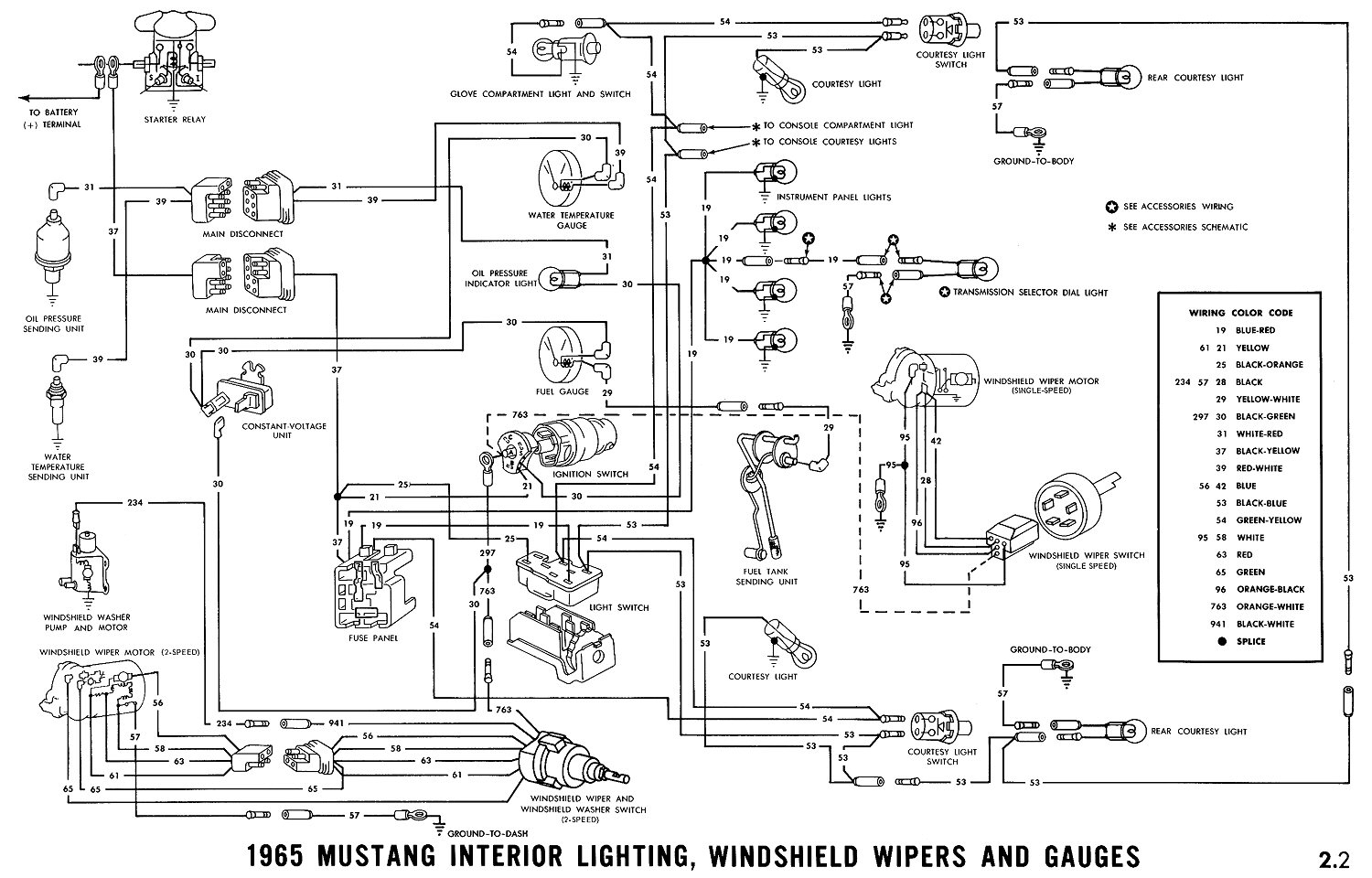 1965 mustang ignition switch wiring diagram Collection-1965 Mustang Wiring Diagrams Average Joe Restoration Beautiful Diagram 4-i