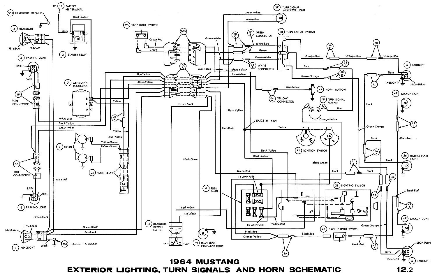 1965 mustang ignition wiring diagram Collection-1965 Mustang Wiring Diagram New 1965 Mustang Wiring Diagrams Average Joe Restoration for Alluring 13-k