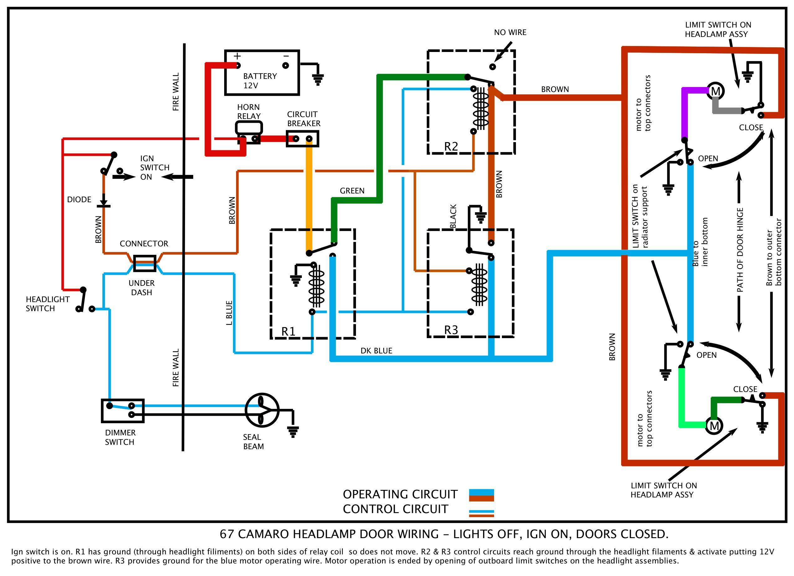 1969 camaro wiring diagram gallery