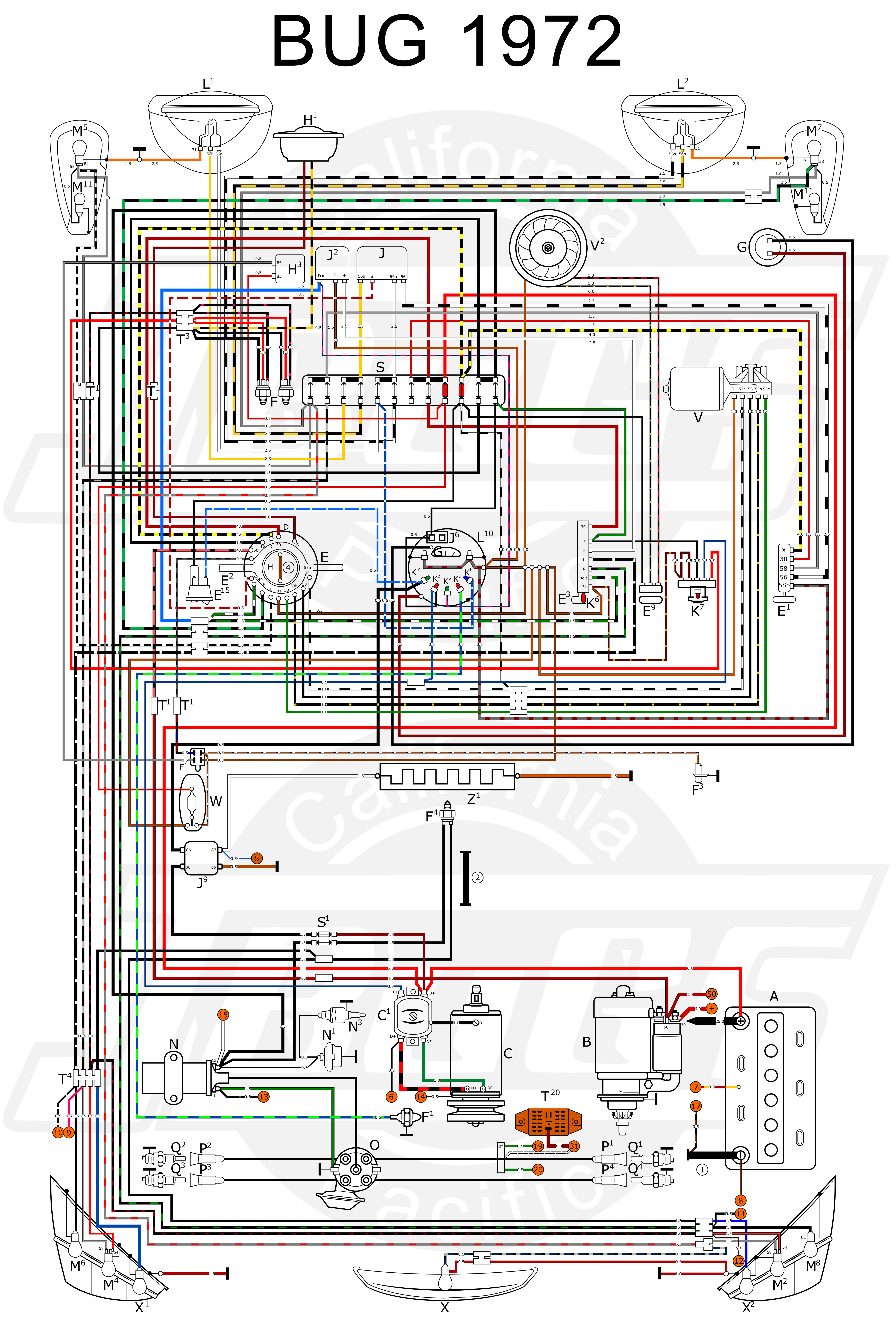 1973 Vw Super Beetle Wiring Diagram Gallery