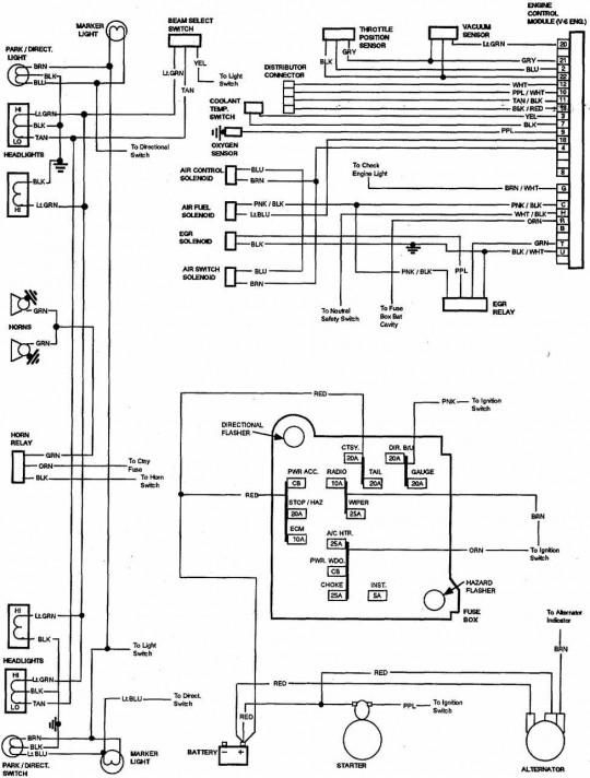 1982 Chevy Truck Wiring Diagram - 85 Chevy Truck Wiring Diagram 5g