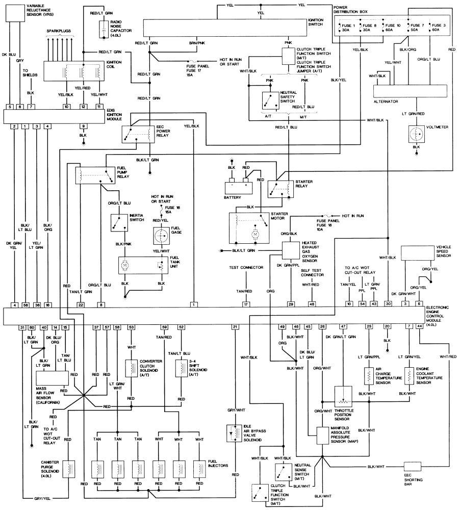 1987 ford f150 wiring diagram Download-JPG or 8-p