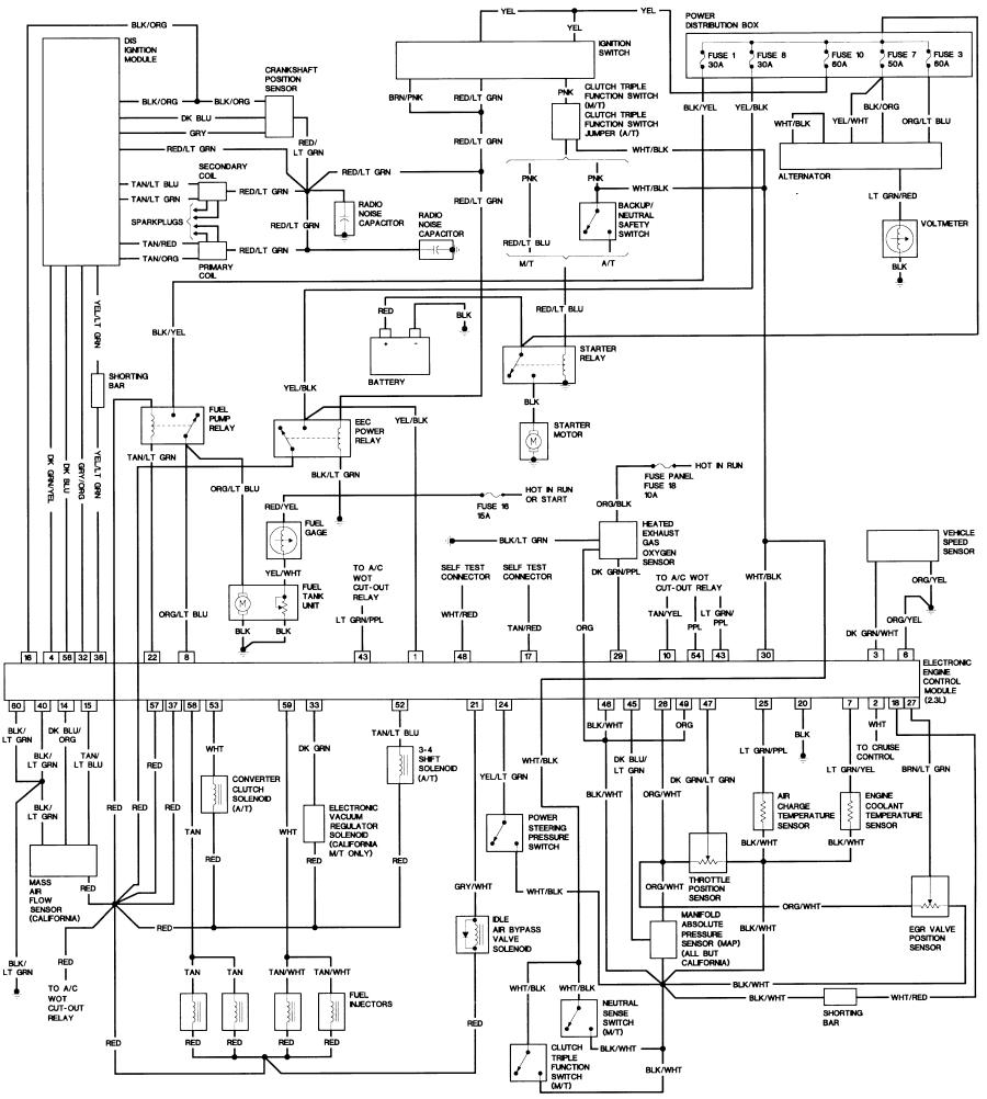 1987 ford f150 wiring diagram Download-JPG or 17-h