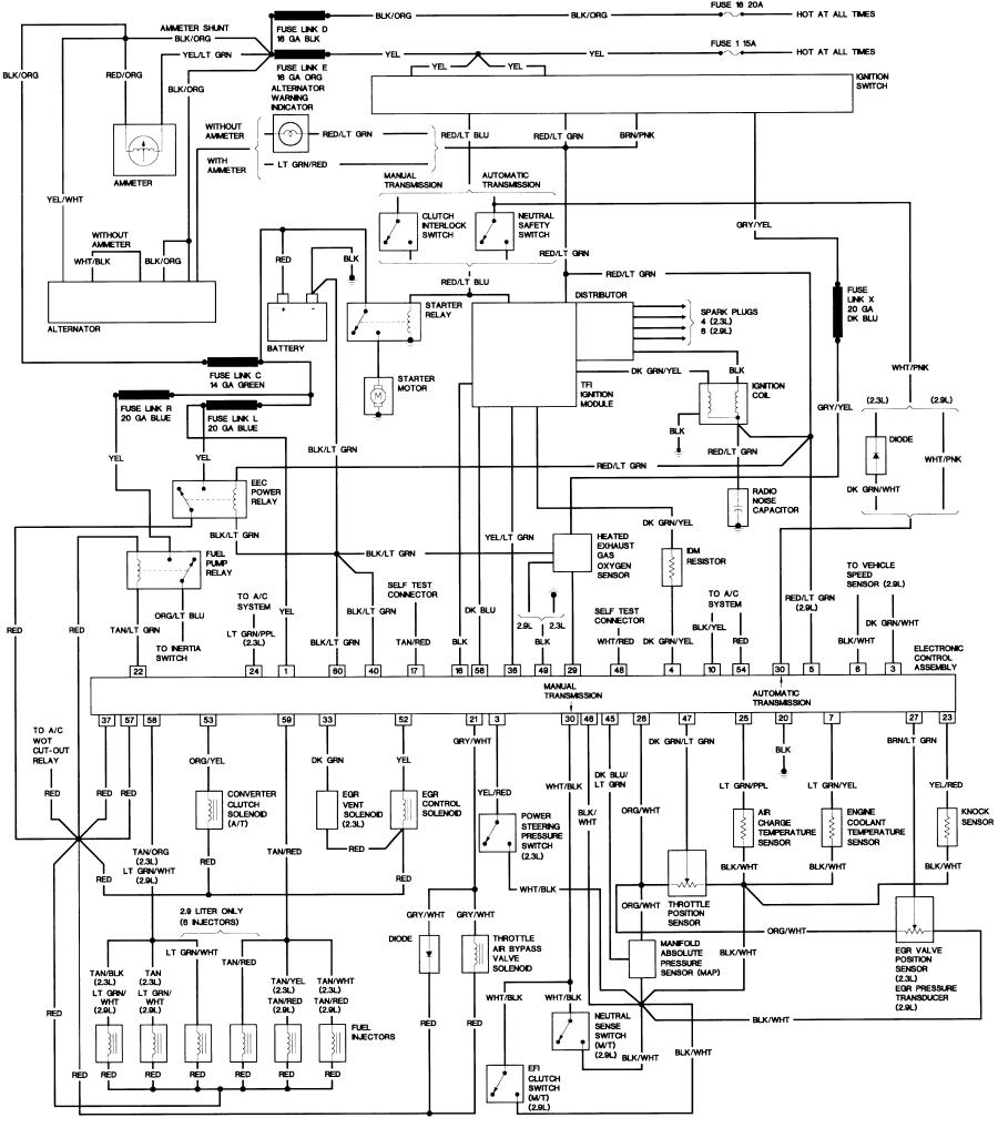 1988 ford f150 radio wiring diagram Collection-JPG or 10-s