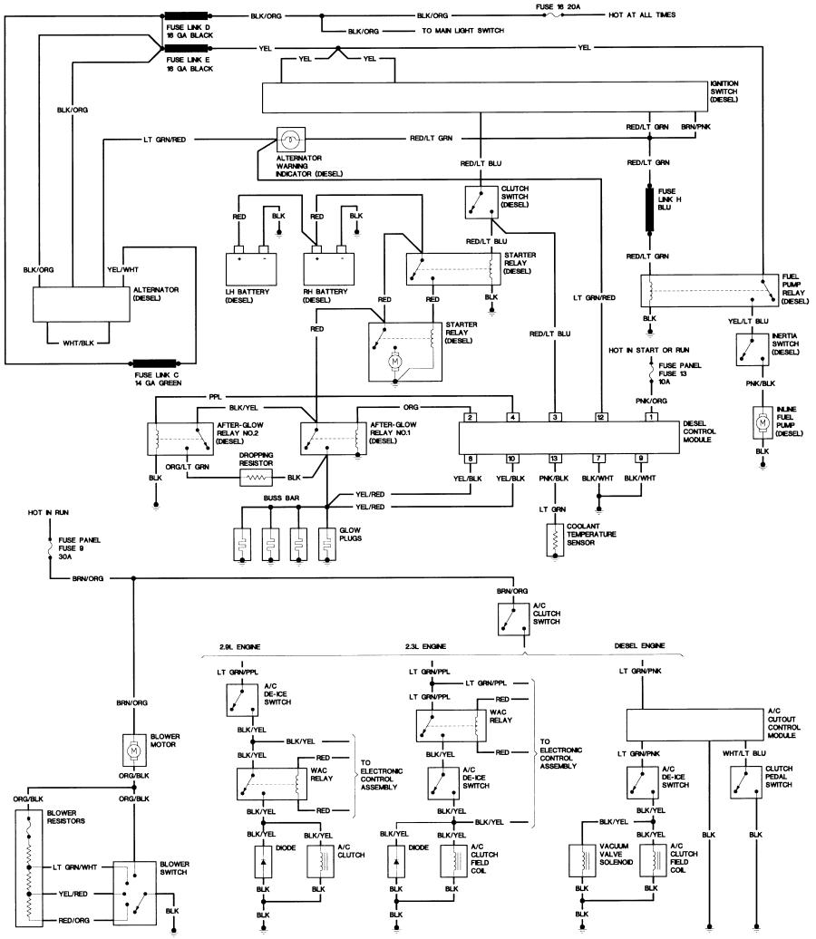 1988 f250 wiring diagram schematics wiring diagrams u2022 rh hokispokisrecords com 1990 ford f250 wiring diagram 1989 ford f250 wiring diagram