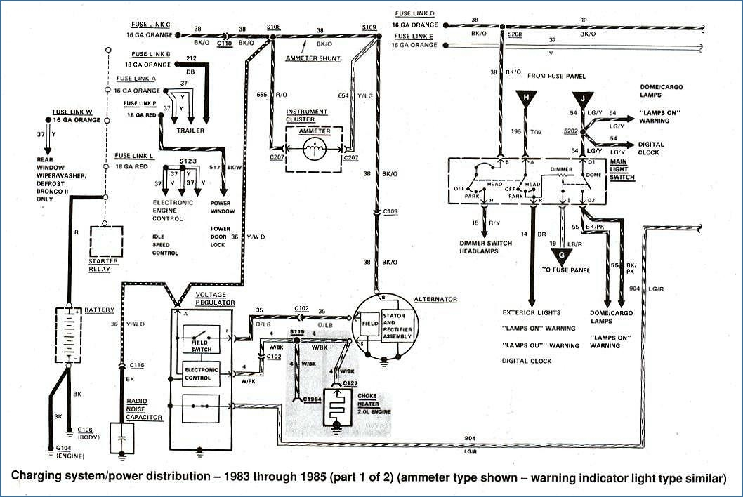 1988 ford f150 wiring diagram Download-Bronco II Wiring Diagrams Bronco II Corral 6-s