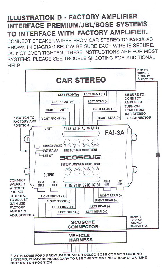 Delco Factory Radios Wiring Diagram - All Diagram Schematics on
