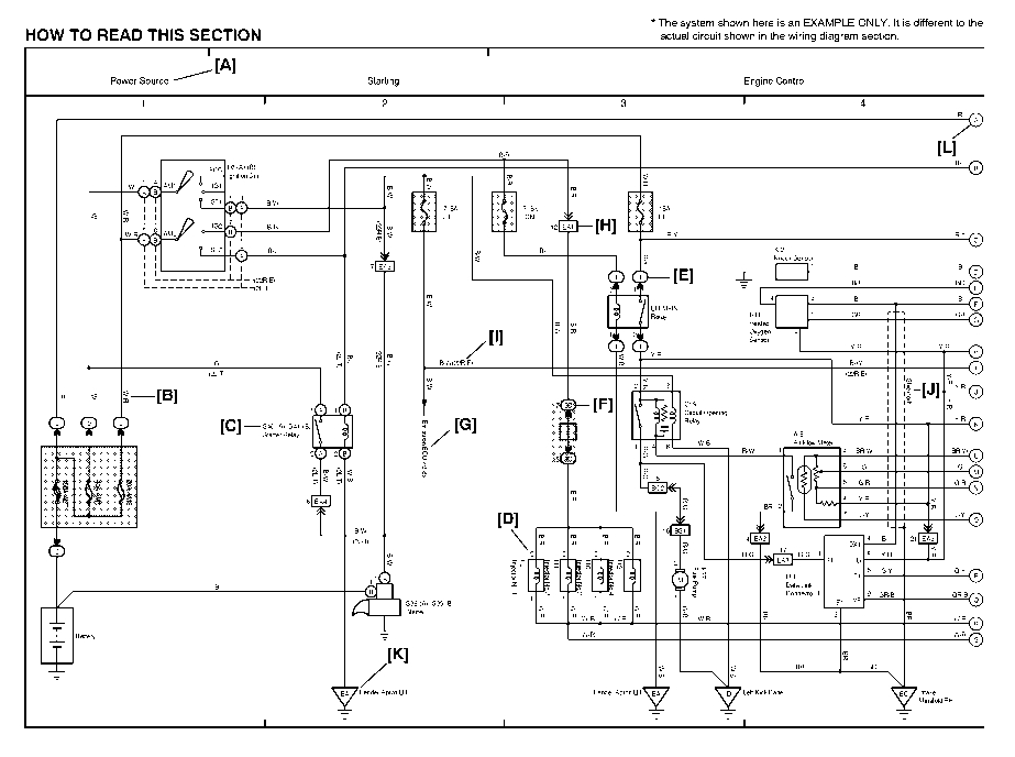 1997 toyota t100 wiring diagram wire data schema u2022 rh sellfie co
