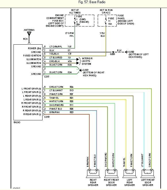 2003 Ford F150 Radio Wiring Harness Diagram - wiring diagram ...  Ford F Stereo Wiring on