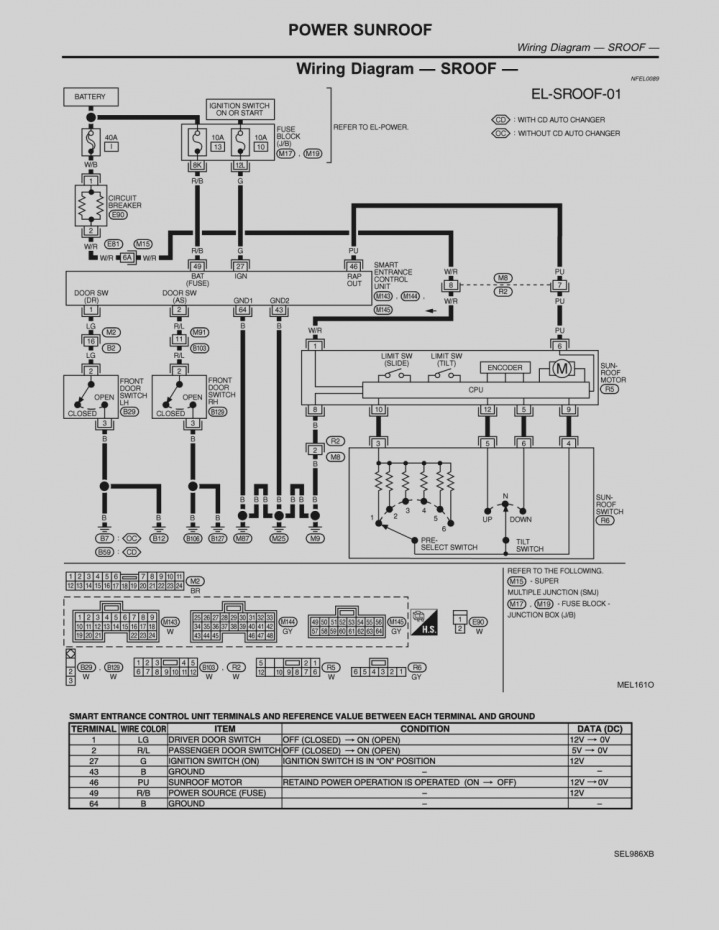 2004 nissan altima radio wiring diagram