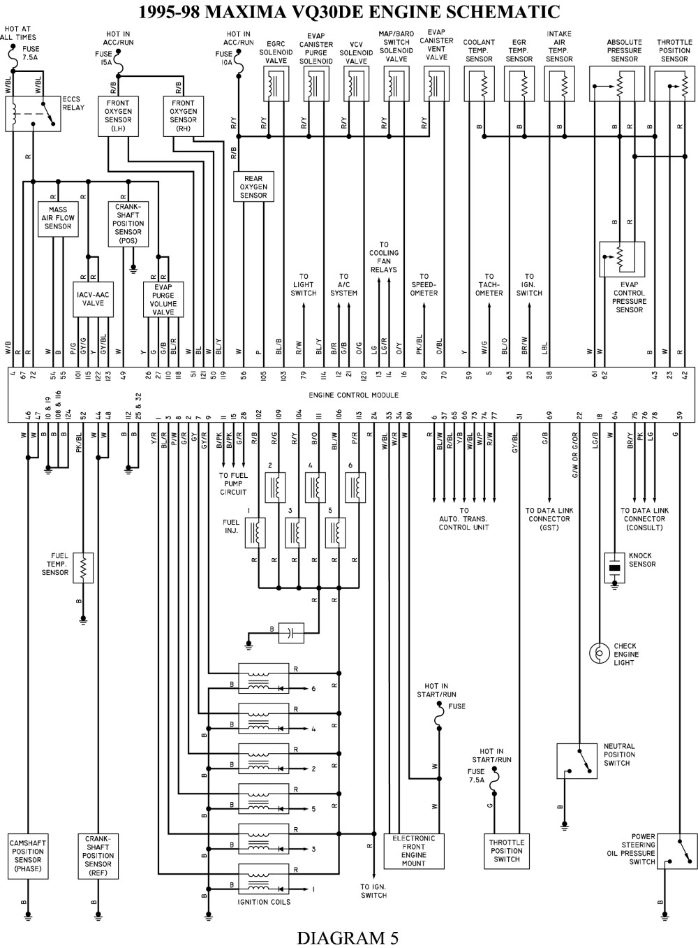 nissan 240sx engine diagrams