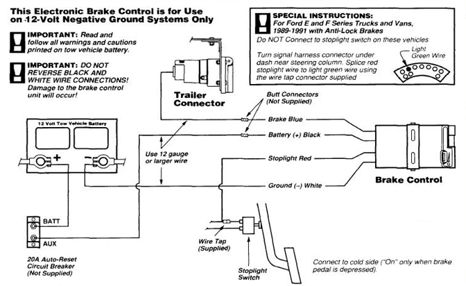 Activator 2 Brake Control Wiring Diagram