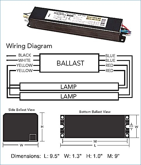 2 Lamp T12 Ballast Wiring Diagram Collection Wiring