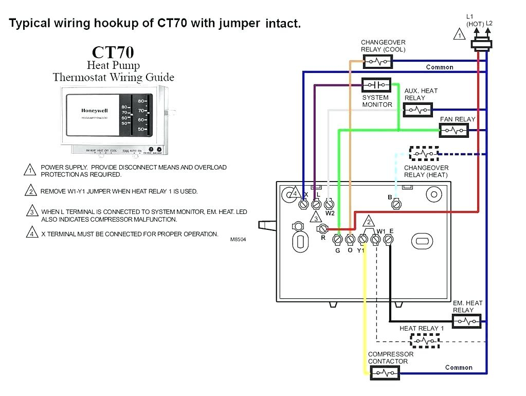 2 Wire thermostat Wiring Diagram Heat Only - 2 Wire Honeywell thermostat Wiring Diagram Heat Ly 8b