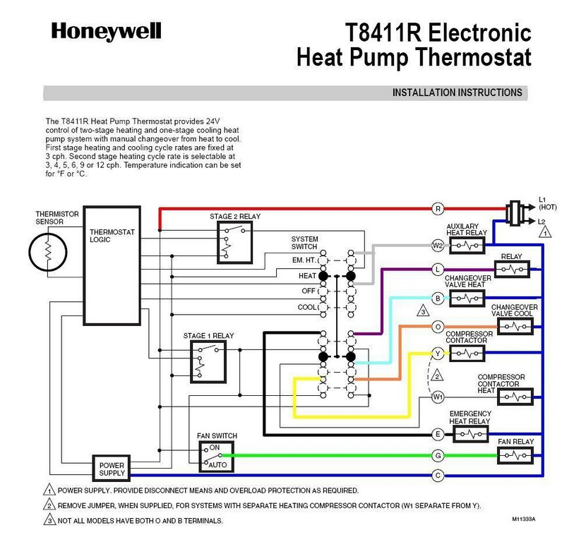 2 wire thermostat wiring diagram heat only Collection-2 Wire Thermostat Wifi Honeywell Thermostat Wiring Color Code Honeywell Thermostat Heat Pump Wiring How To Wire A Honeywell Thermostat With 6 Wires 2 Wire 3-d