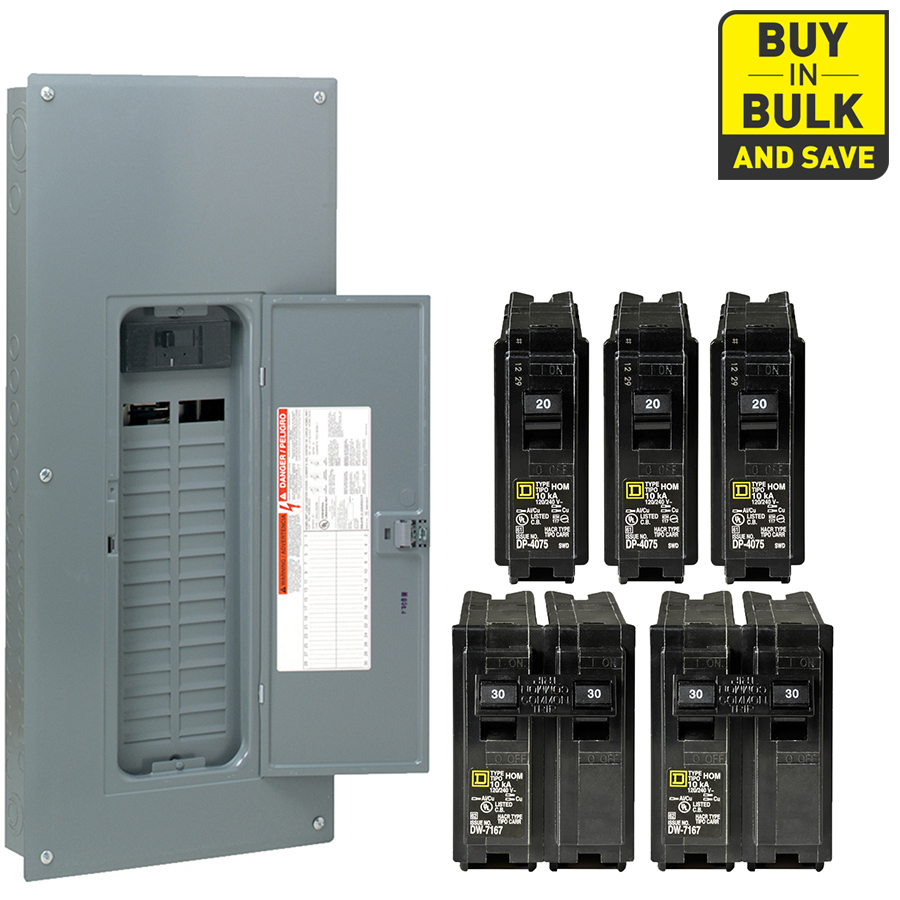 200 amp square d panel wiring diagram Download-Square D Homeline 60 Circuit 30 Space 200 Amp Main Breaker Plug 18-h
