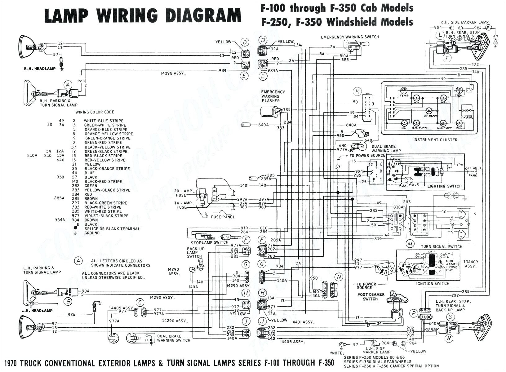 1985 Ford F150 Headlight Switch Wiring Diagram Wiring