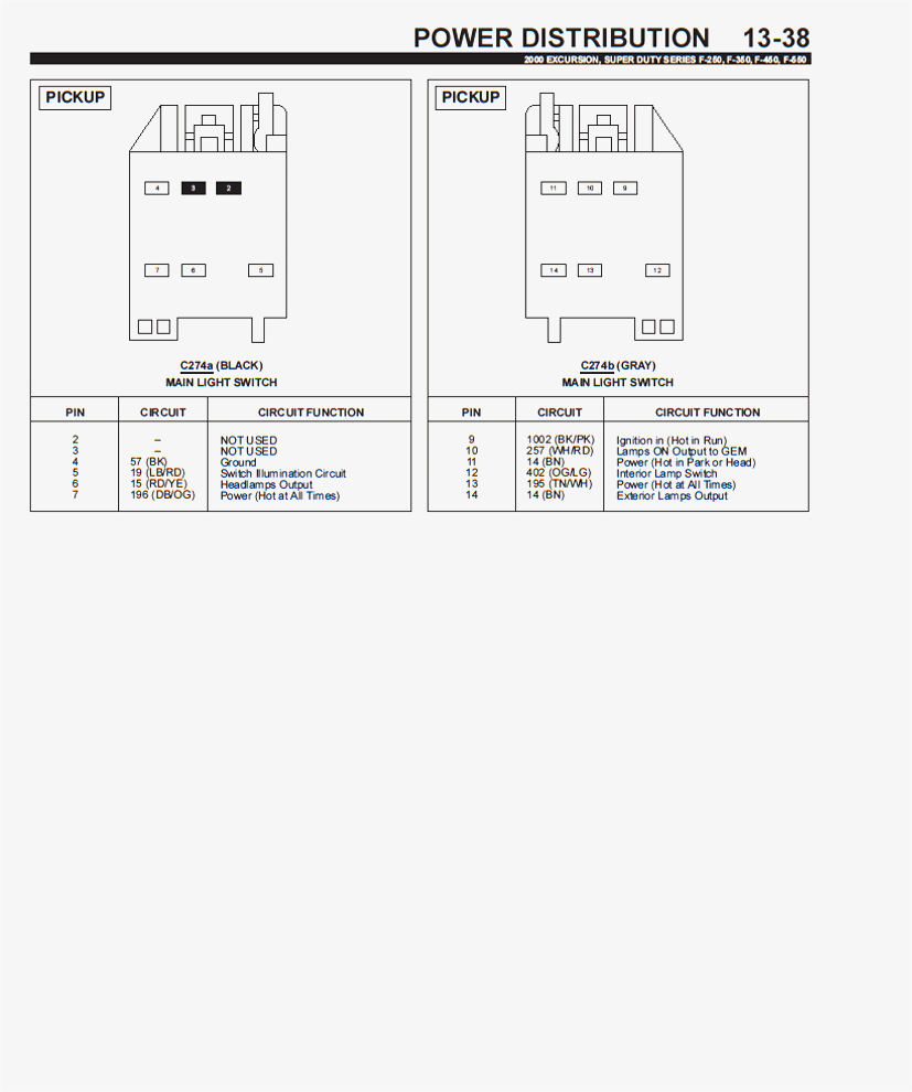 2000 F250 Headlight Switch Wiring Diagram Collection Ford F 350 Download For A Light Best Charming