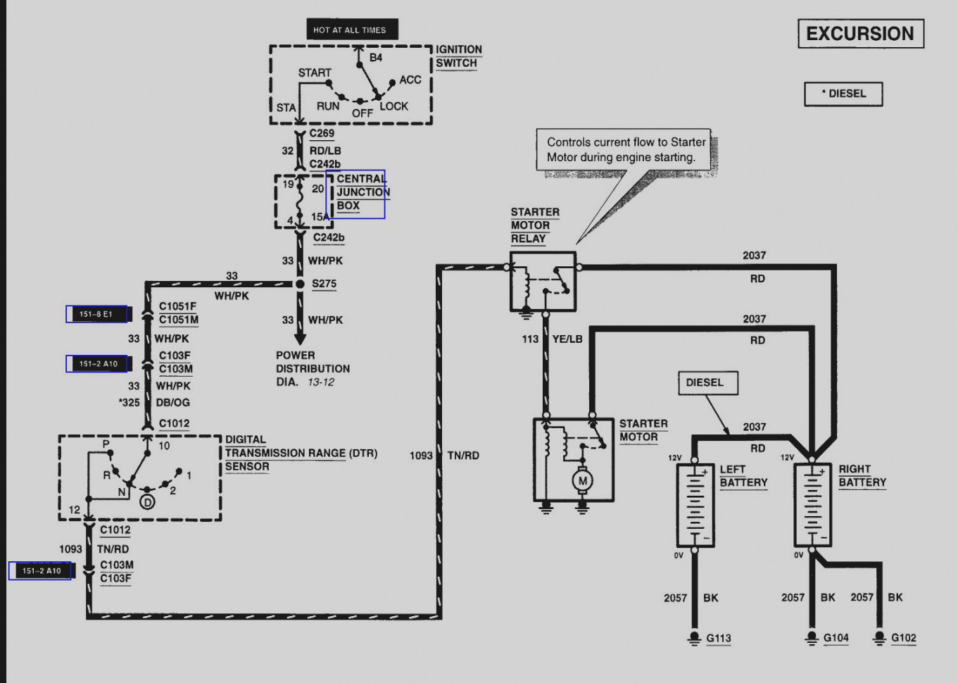 2005 ford excursion wiring diagram  u2022 wiring diagram for free