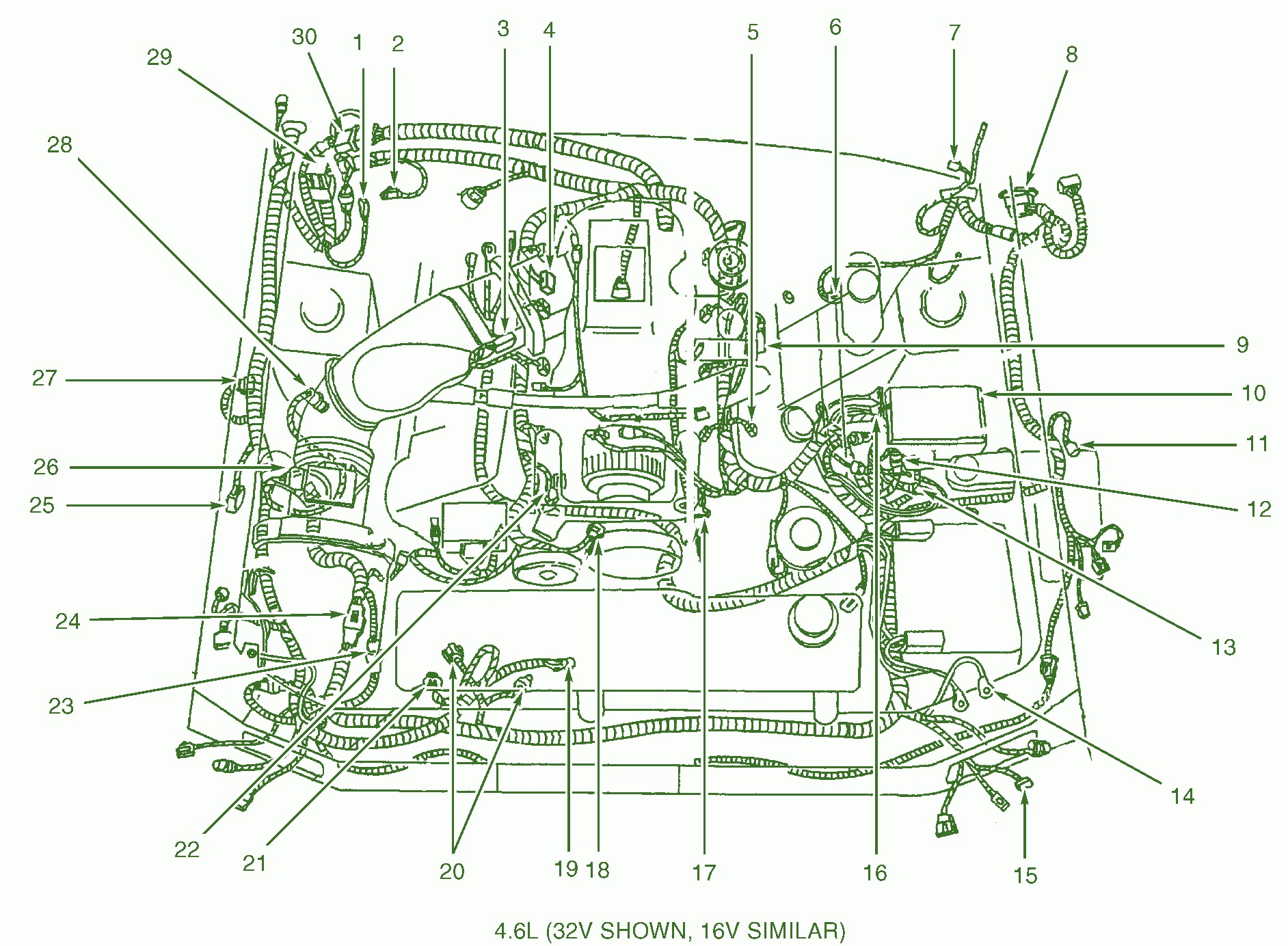 1969 Ford Mustang Wiring Diagram 1969 Wiring Identification
