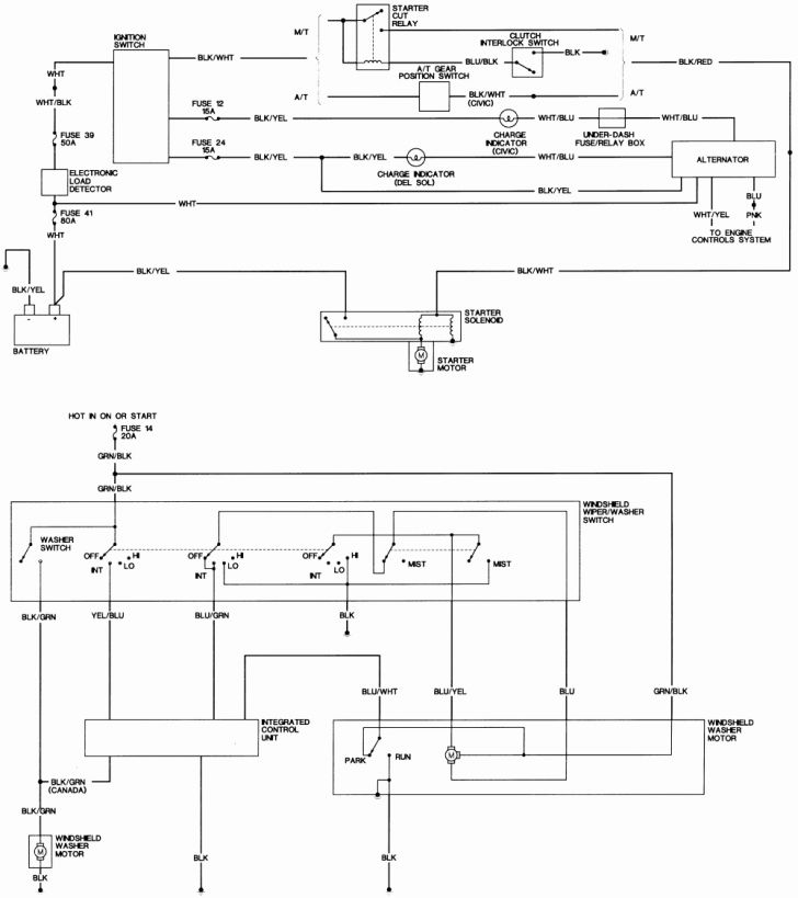 Honda civic alarm wiring diagram sample