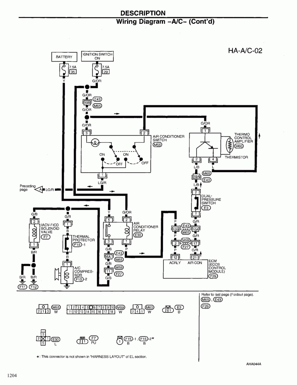 Nissan Xterra Ac Diagram - Wiring Diagram K10 on