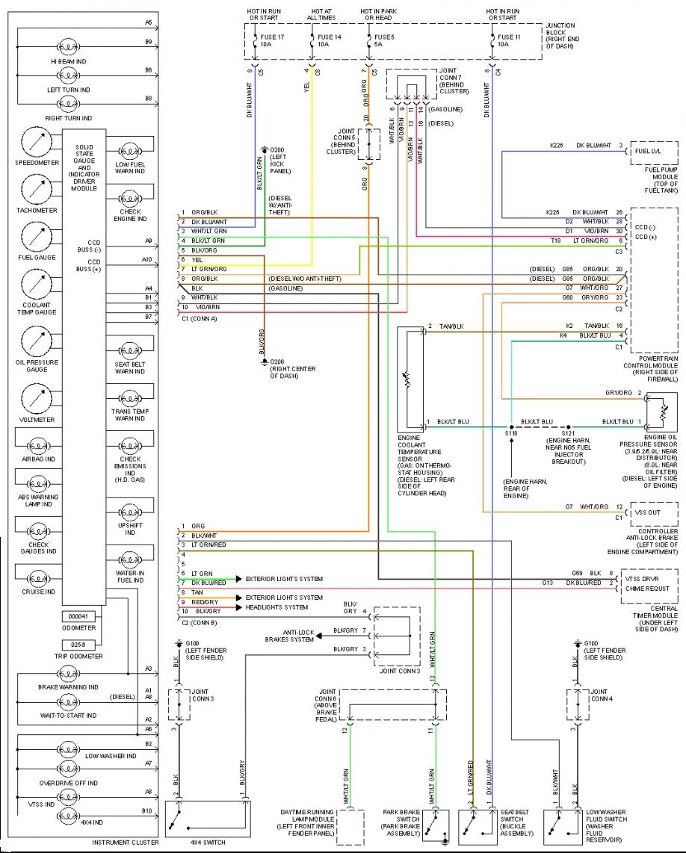 2001 dodge ram 1500 pcm wiring diagram Download-Wiring Diagram 2001 Dodge Ram 1500 And 2002 6-c