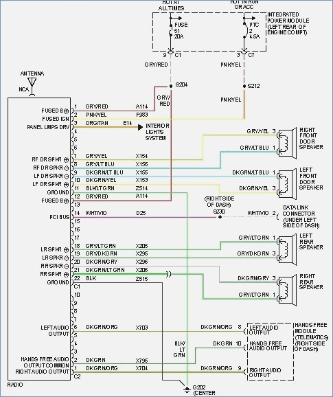 2001 Dodge Ram 2500 Radio Wiring Diagram Gallery | Wiring ... on