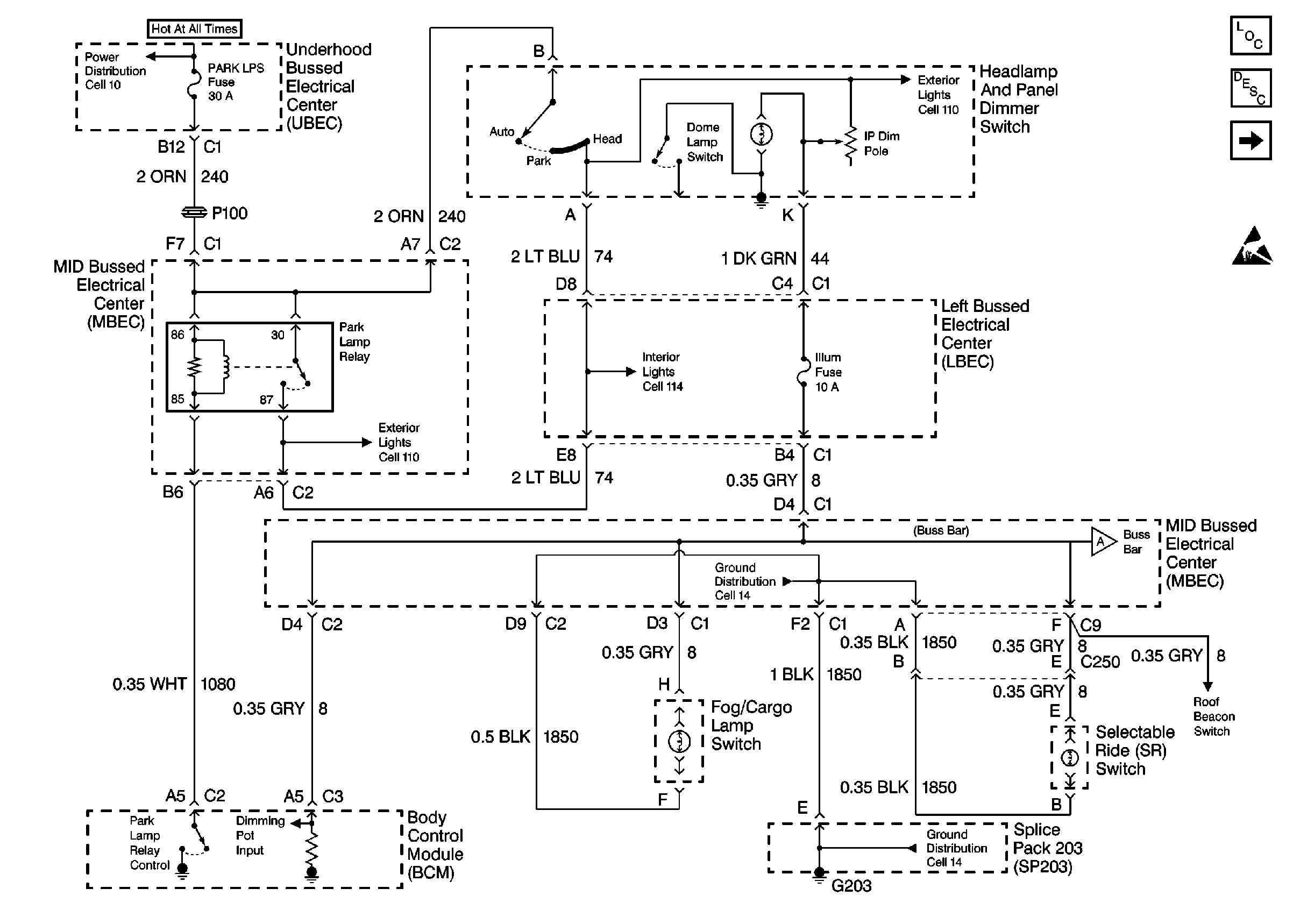 Headlight Wiring Diagram 2002 Silverado - Wiring Diagram •