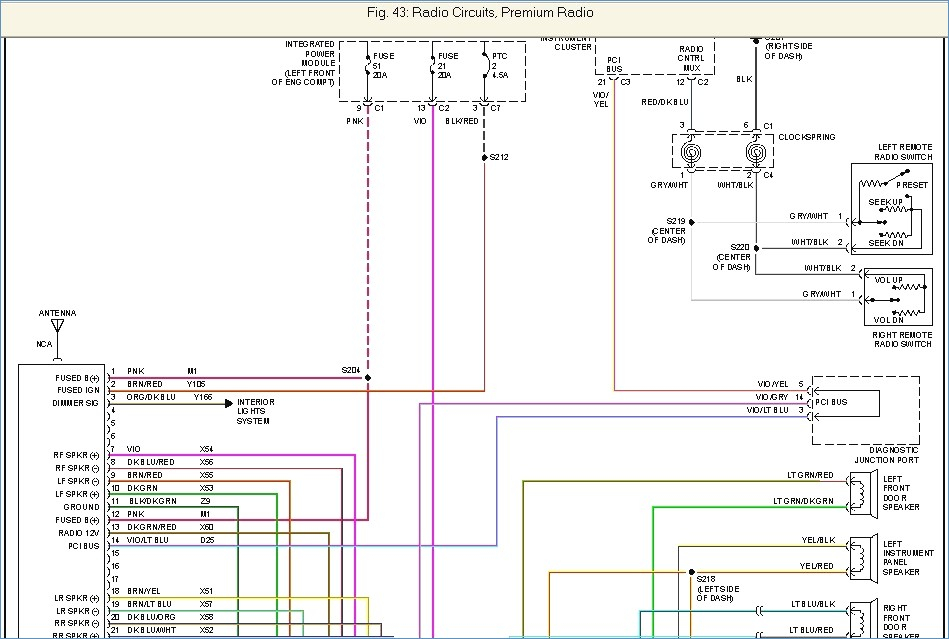 2002 dodge ram 1500 radio wiring diagram Collection-16 Over Stereo Wiring Diagram for 2002 Dodge Ram 1500 6-r