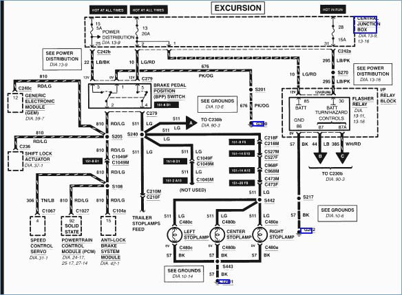 2003 excursion wiring diagram free vehicle wiring diagrams \u2022 2001 ford excursion trailer wiring diagram at 2001 Excursion Wiring Diagram