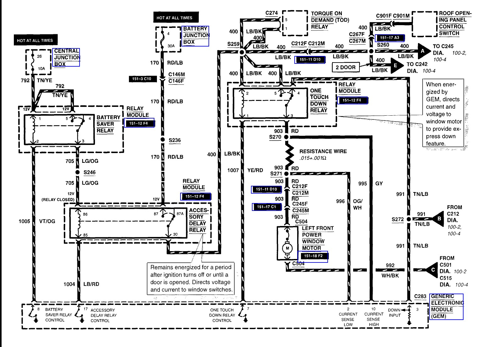 2002 ford excursion wiring diagram Download-2003 ford Explorer Window Wiring  Diagram 11-f