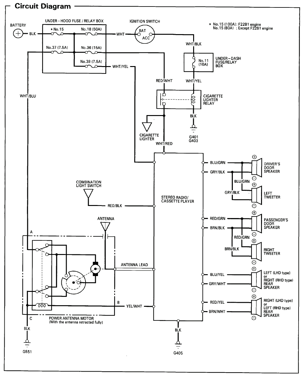 2002 Honda Accord Wiring Diagram Gallery | Wiring Diagram ...