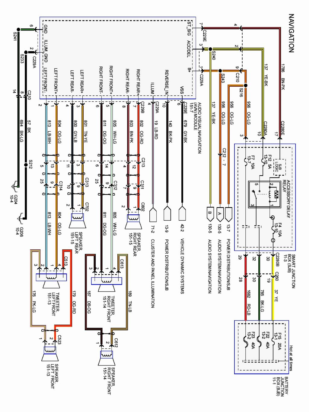 2003 ford escape radio wiring diagram Collection-2003 Ford Explorer Radio  Wiring Diagram Awesome 2006