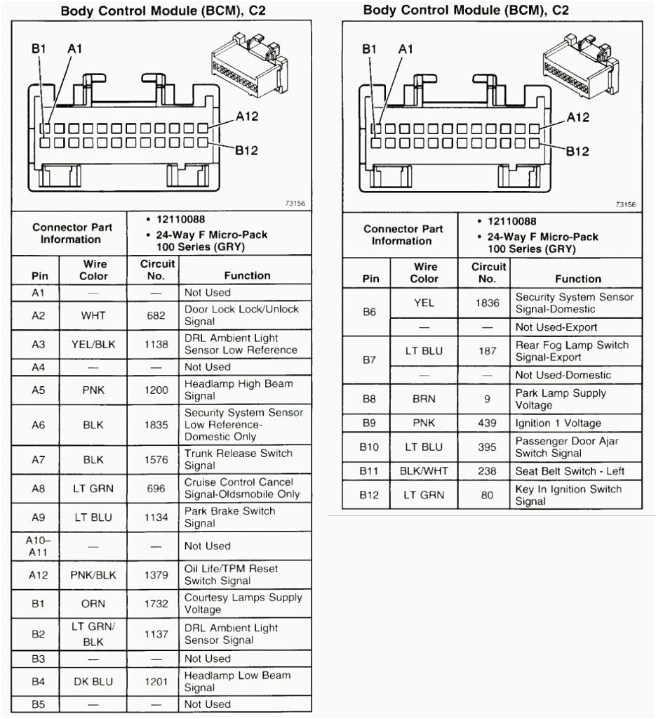 2005 Gmc Envoy Rear Fuse Box Diagram Wiring Diagram For Free