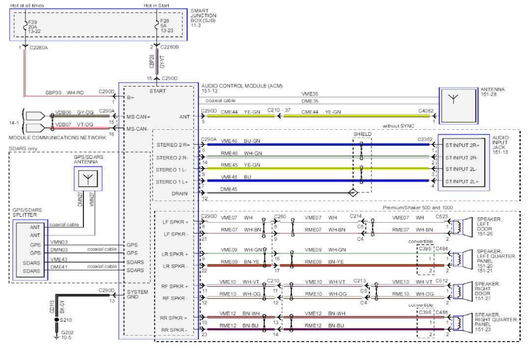 2003 mustang radio wiring diagram Download-2003 toyota Sequoia Radio Installation Wiring Diagram Luxury 1999 Mustang Gt Wiring Diagram – Wirdig – 18-c