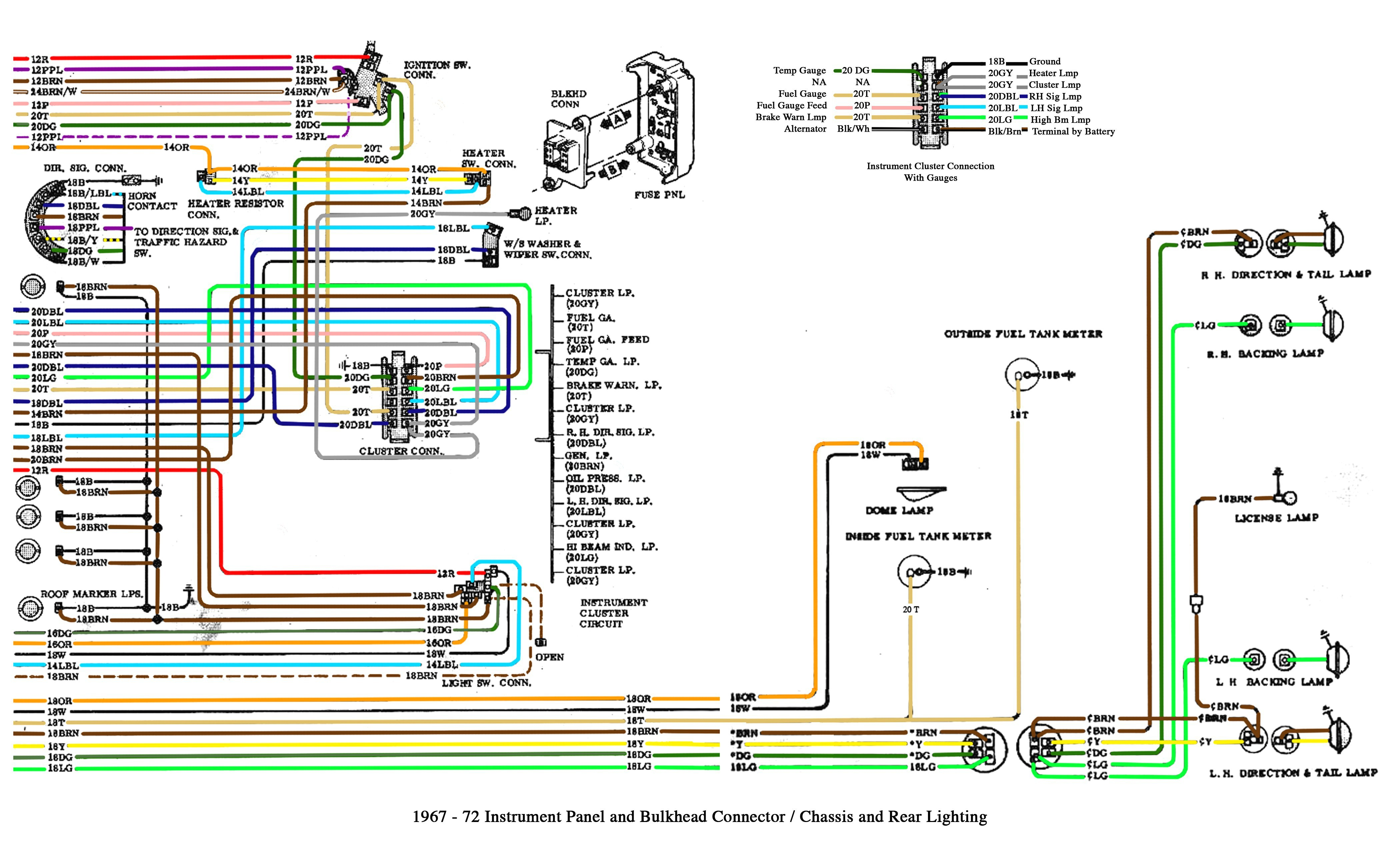 2004 chevy tahoe instrument cluster wiring diagram