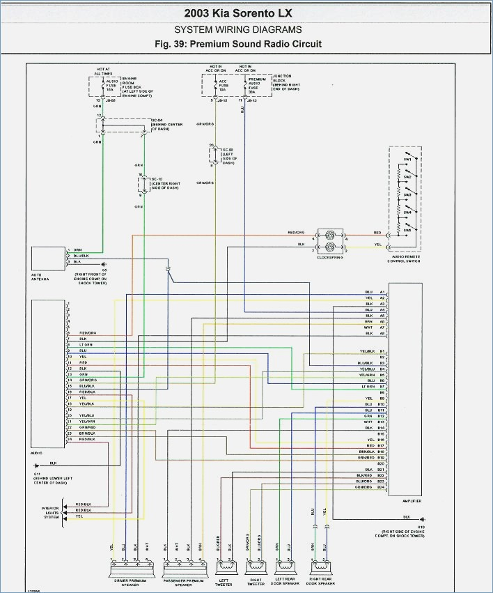 2004 kia spectra radio wiring diagram Download-Factory Installed Am Radio Wiring Schematics 1984 Dodge D150 Unique 1998 Kia Sephia Wiring Diagram Wiring 11-s