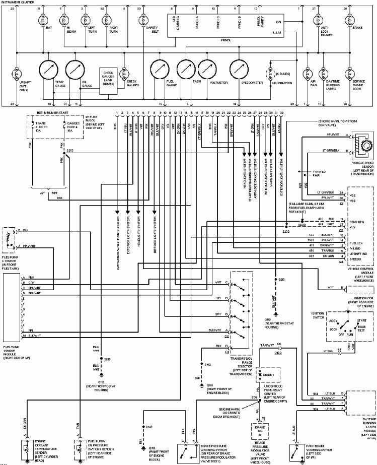 2004 silverado wiring diagram pdf Download-1995 Camaro Wiring Diagram Unique Chevrolet Blazer 1998 System Wiring Diagrams Pdf Free Wiring Diagrams 16-c