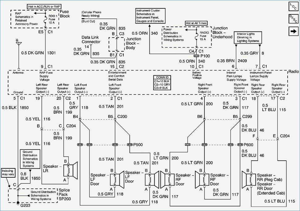 2005 chevy impala wiring diagram Collection-New 2002 Chevy Impala Car Stereo Wiring Diagram 2005 Chevy 15-c
