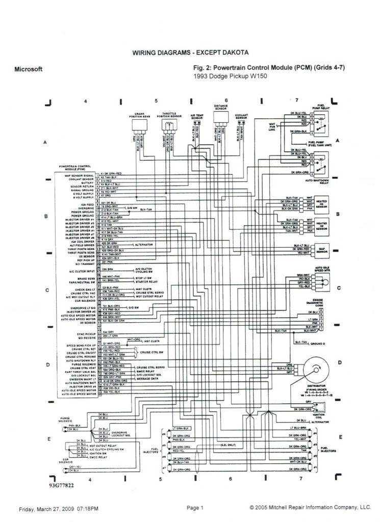2005 Dodge Ram 2500 Diesel Wiring Diagram Gallery